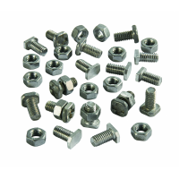 Assorted Greenhouse Nuts & Bolts 16 Pack