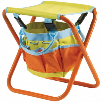 Briers Kids Folding Stool with Storage Bag