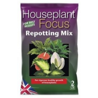 Growth Technology Houseplant Focus Repotting Mix Bag - 2 Litres