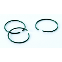 Plastic Coated Plant Rings 50 Pack