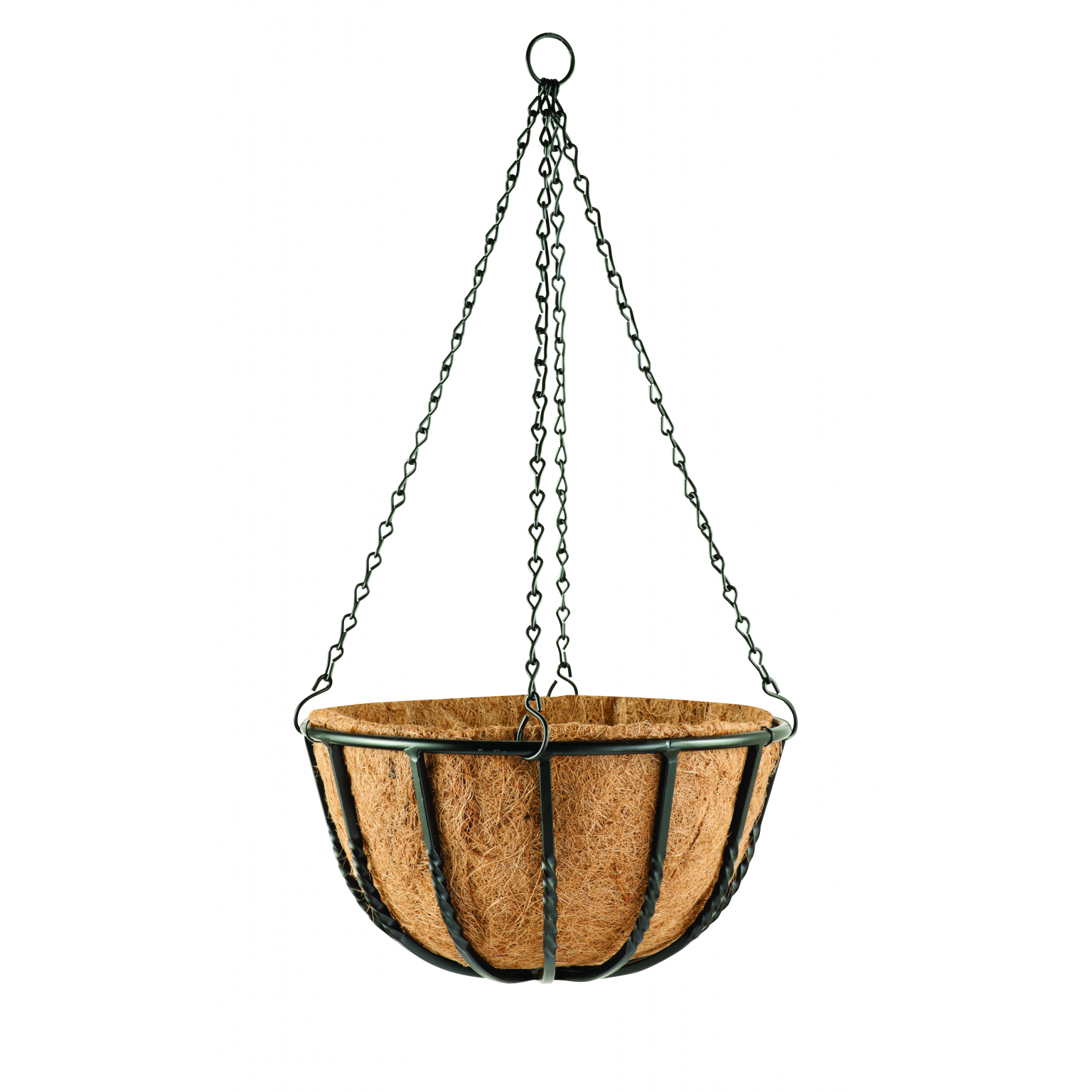 "Blacksmith Hanging Basket 35cm 14"" Hanging Wall & Patio Planters Thirsk Garden Centre"