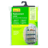 Replacement Cover for Compact 4 Tier Growhouse
