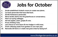 October Jobs for the Month