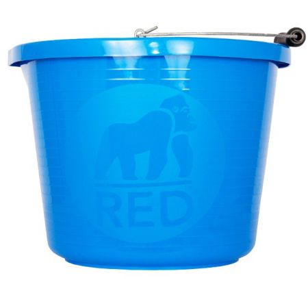 Bucket Premium Blue Red Gorilla