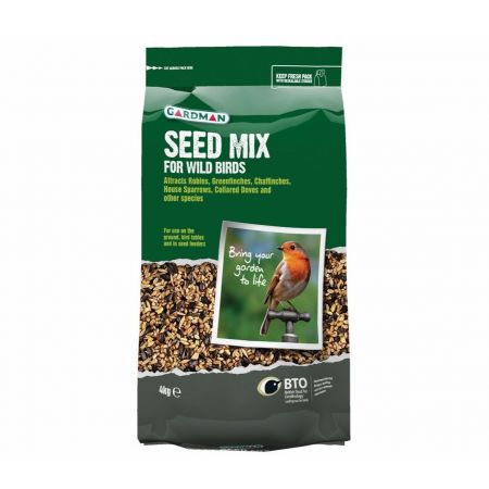 Gardman Wild Bird Seed Mix 4kg