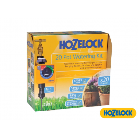 Hozelock 20 Pot Watering Kit with Aqua Control 1 Timer 2803