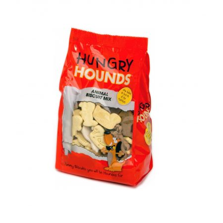 Hungry Hounds Petface - Premium Dog Treats Animal Biscuit Mix 400g