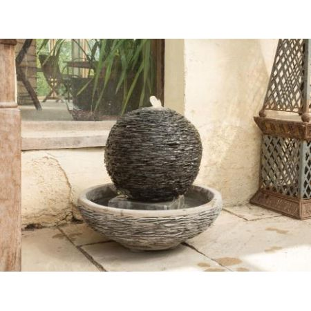 Lagoon Meduim Slate Water Feature