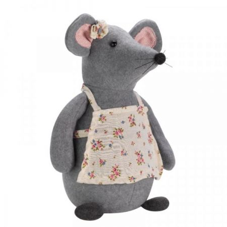 Mrs Mouse Doorstop - image 1
