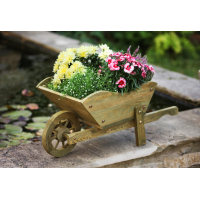 Woodland Wheelbarrow Planter - image 2