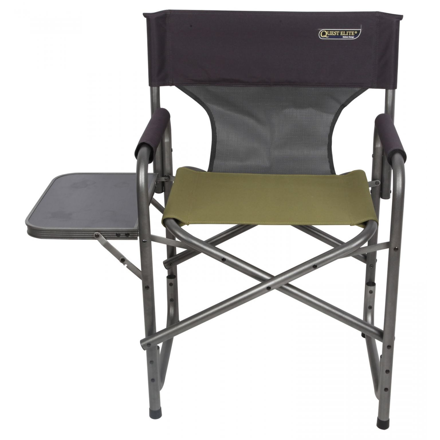 Magnificent Quest Elite Surrey Deluxe Folding Sage Camping Chair Pabps2019 Chair Design Images Pabps2019Com