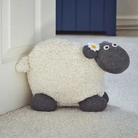 Woolly Sheep Doorstop - image 2